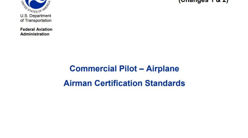 Commercial Pilot Airplane ACS